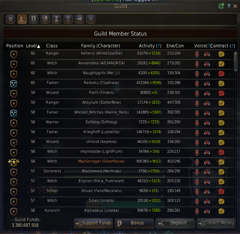 Guild quests, perks and salary in Black Desert Online